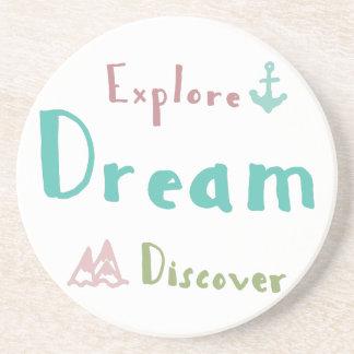 Explore Dream Discover Coaster