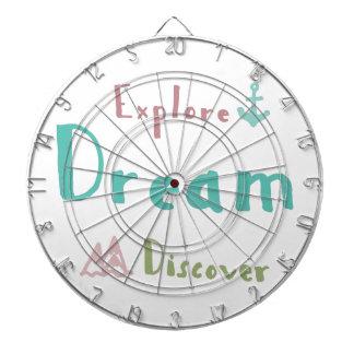 Explore Dream Discover Dartboard