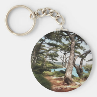 Explore Dream Discover Keychain