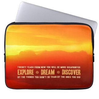 Explore. Dream. Discover. Laptop Sleeve