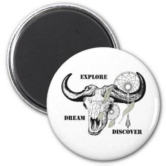 Explore Dream Discover Magnet