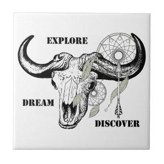 Explore Dream Discover Tile