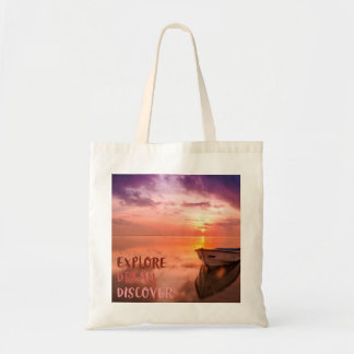 Explore Dream Discover Tote Bag