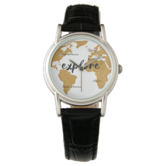 Explore Gold Map Watch
