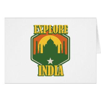 Explore India Card