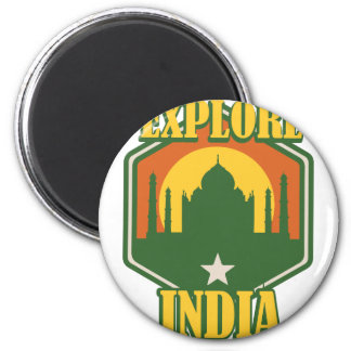 Explore India Magnet