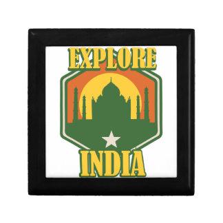 Explore India Trinket Boxes