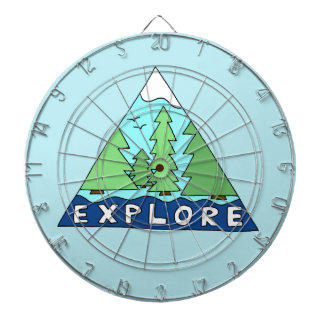 Explore Nature Outdoors Wilderness Mountains Dartboards