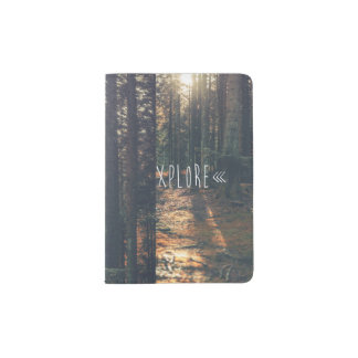 EXPLORE PASSPORT HOLDER