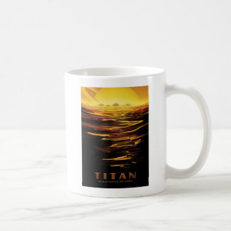Explore Saturns Moon Titan Coffee Mug