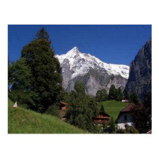 Explore Switzerland Bernese Oberland Postcard