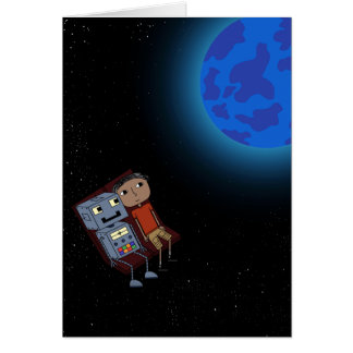 Explore the Universe - Greeting Card