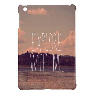 Explore with Me Mini iPad Case