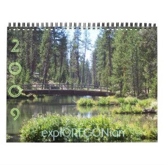explOREGONian Wall Calendar