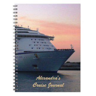 Explorer at Evening Personalized Cruise Journal