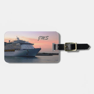 Explorer at Evening Personalized Luggage Tag