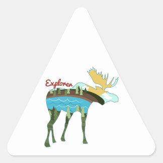 Explorer Triangle Stickers
