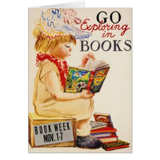 Exploring Books 1961 Card