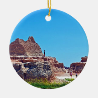 """""""Exploring the Badlands"""" collection Ceramic Ornament"""