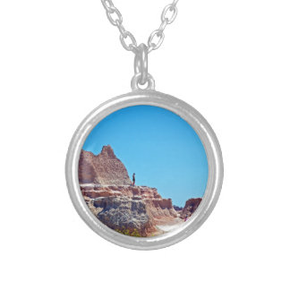 """Exploring the Badlands"" collection Silver Plated Necklace"