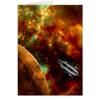 Exploring the Doradus Nebula Card
