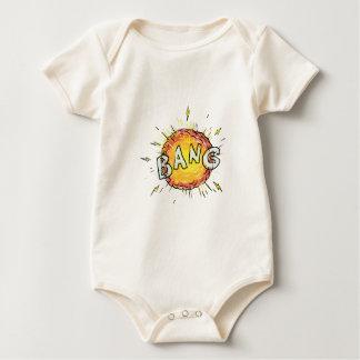 Explosion Bang Cartoon Baby Bodysuit