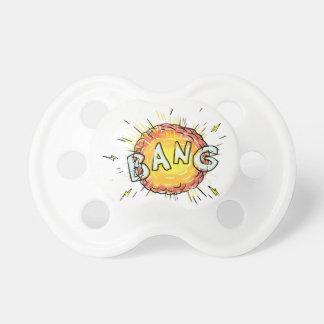 Explosion Bang Cartoon Pacifier