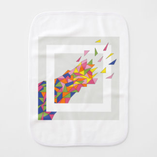 Explosion Burp Cloth