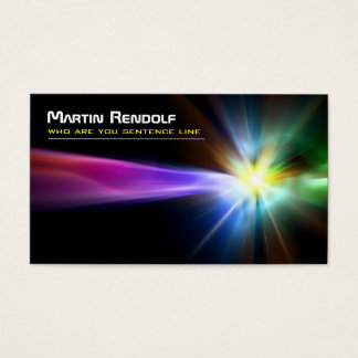 explosion business card