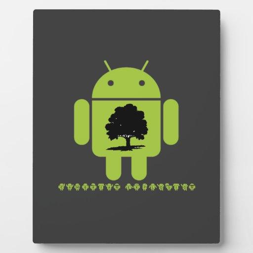 Explosion cambrienne (chêne sur insecte Droid) Plaques D'affichage