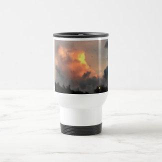 Explosion cloud travel mug