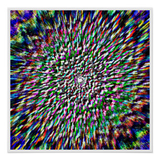Explosion de couleurs affiches