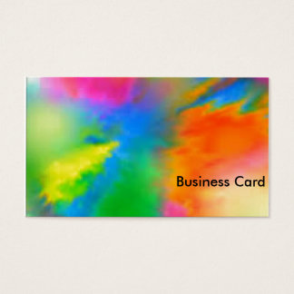 Explosion of Color Business Card