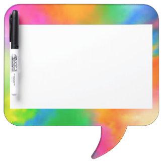 Explosion of Color Dry-Erase Board