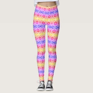 Explosion of color leggings