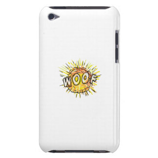 Explosion Woof Cartoon iPod Touch Case