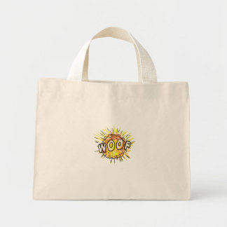 Explosion Woof Cartoon Mini Tote Bag