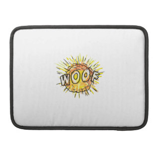 Explosion Woof Cartoon Sleeve For MacBooks