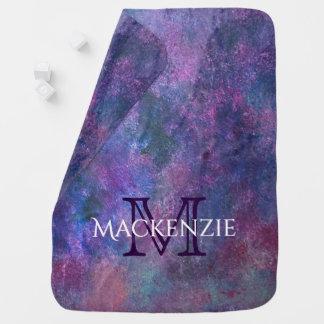 Explosive Baby | Custom Purple Pink Green Blue | Baby Blanket