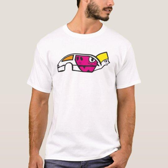 Explosive crashed car T-Shirt