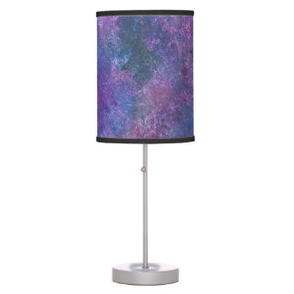 Explosive Decor | Blue Pink Purple Green Pastel | Table Lamp