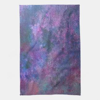 Explosive Kitchen   Purple Pink Green Blue   Fun Kitchen Towel