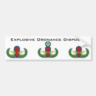 Explosive Ordnance Disposal Bumper Sticker