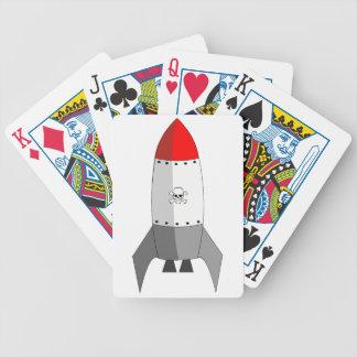 Explosive Rocket Poker Deck