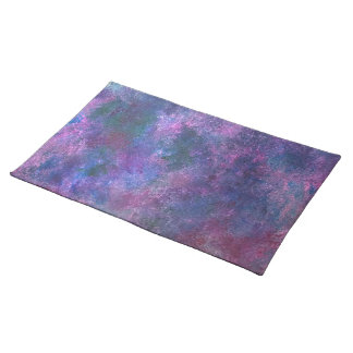 Explosive Table | Purple Pink Green Blue | Pastel Placemat