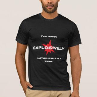 Explosive window Shirt