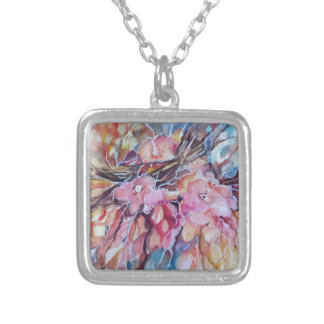 Explotion Silver Plated Necklace