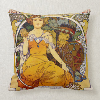 Expo Poster 1904 Throw Pillow