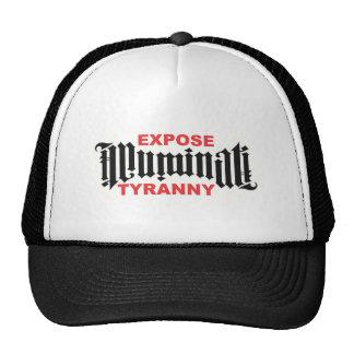 Expose NWO Tyranny Trucker Hats
