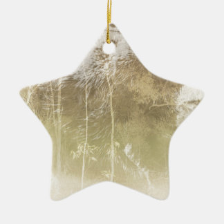 Exposed Bear Ceramic Ornament